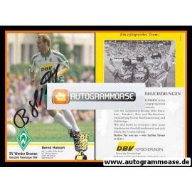 Autogramm Fussball   SV Werder Bremen   1994   Bernd HOBSCH