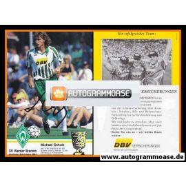 Autogramm Fussball   SV Werder Bremen   1994   Michael SCHULZ