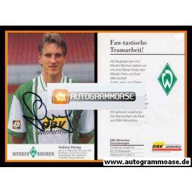 Autogramm Fussball | SV Werder Bremen | 1996 | Thomas PENSHORN