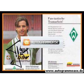 Autogramm Fussball | SV Werder Bremen | 1996 | Heimo PFEIFENBERGER
