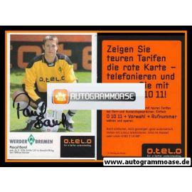 Autogramm Fussball | SV Werder Bremen | 1998 | Pascal BOREL