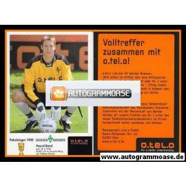 Autogramm Fussball | SV Werder Bremen | 1999 o.tel.o | Pascal BOREL