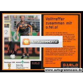 Autogramm Fussball   SV Werder Bremen   1999 o.tel.o   Dieter EILTS