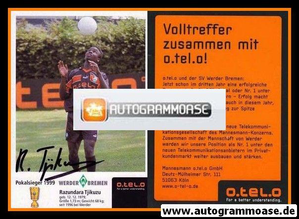 Autogramm Fussball | SV Werder Bremen | 1999 o.tel.o | Razundara TJIKUZU