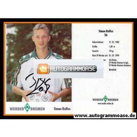Autogramm Fussball | SV Werder Bremen | 2001 | Simon ROLFES