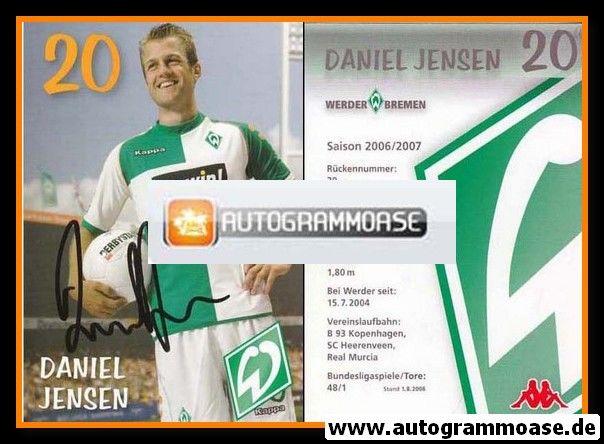 Autogramm Fussball | SV Werder Bremen | 2006 we win | Daniel JENSEN
