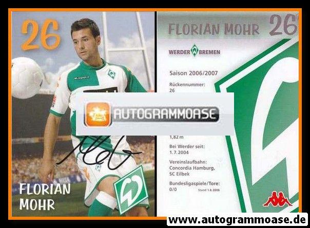 Autogramm Fussball | SV Werder Bremen | 2006 we win | Florian MOHR