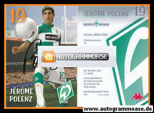 Autogramm Fussball | SV Werder Bremen | 2006 we win | Jerome POLENZ