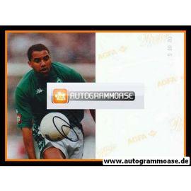 Autogramm Fussball   SV Werder Bremen   2002 Foto   AILTON (Spielszene)