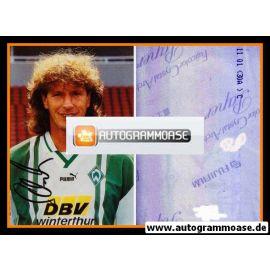 Autogramm Fussball   SV Werder Bremen   1996 Foto   Michael SCHULZ (AK ohne Name)