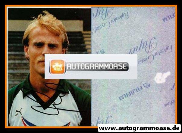 Autogramm Fussball | SV Werder Bremen | 1984 Foto | Thomas SCHAAF (ohne Name)