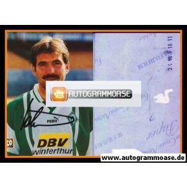 Autogramm Fussball | SV Werder Bremen | 1996 Foto | Mirko VOTAVA