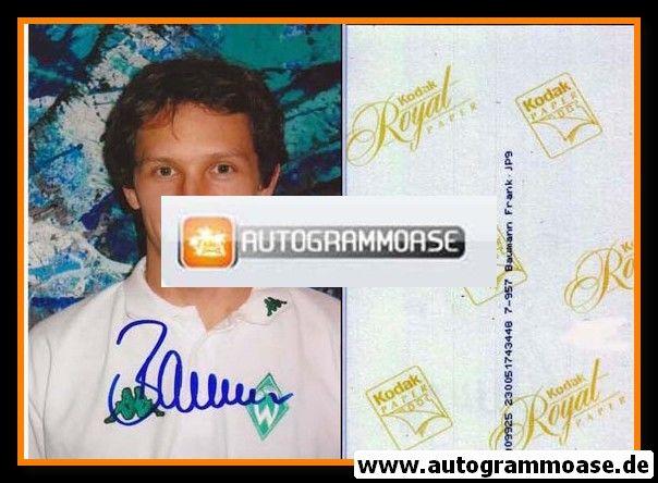 Autogramm Fussball | SV Werder Bremen | 2002 Foto | Frank BAUMANN