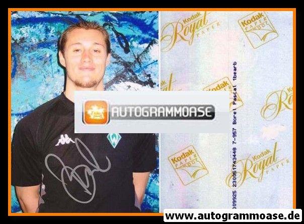 Autogramm Fussball | SV Werder Bremen | 2002 Foto | Pascal BOREL