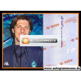 Autogramm Fussball | SV Werder Bremen | 2002 Foto | Mladen KRSTAJIC