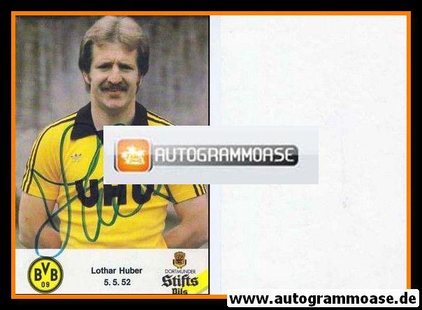 Autogramm Fussball | Borussia Dortmund | 1980 | Lothar HUBER