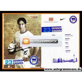 Autogramm Fussball | Hertha BSC Berlin | 2006 | Dennis CAGARA
