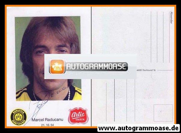 Autogramm Fussball | Borussia Dortmund | 1983 | Marcel RADUCANU