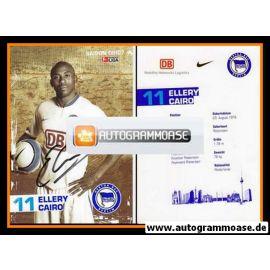 Autogramm Fussball | Hertha BSC Berlin | 2006 | Ellery CAIRO