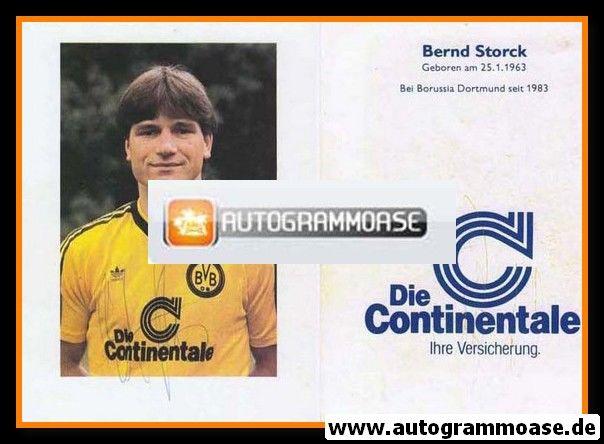 Autogramm Fussball | Borussia Dortmund | 1986 | Bernd STORCK