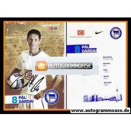 Autogramm Fussball | Hertha BSC Berlin | 2006 | Pal DARDAI