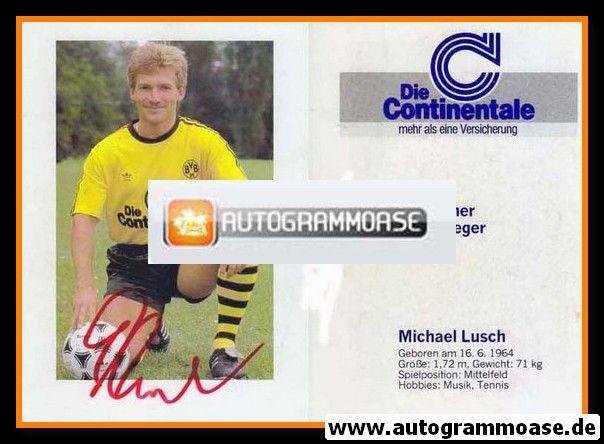 Autogramm Fussball | Borussia Dortmund | 1989 | Michael LUSCH