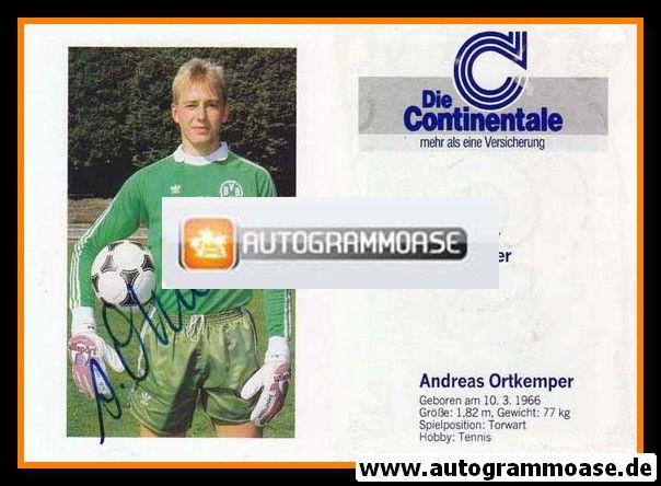 Autogramm Fussball   Borussia Dortmund   1989   Andreas ORTKEMPER