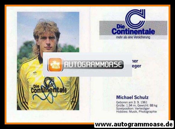 Autogramm Fussball | Borussia Dortmund | 1989 | Michael SCHULZ