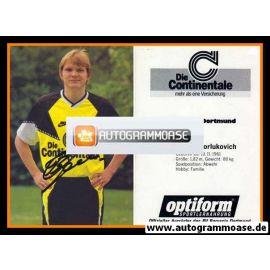 Autogramm Fussball   Borussia Dortmund   1990   Sergej GORLUKOVICH