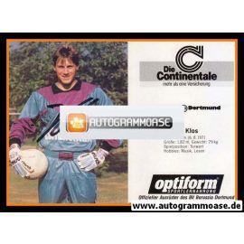 Autogramm Fussball | Borussia Dortmund | 1990 | Stefan KLOS
