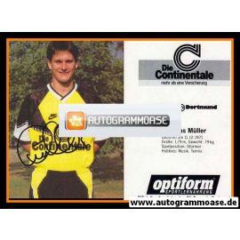 Autogramm Fussball | Borussia Dortmund | 1990 | Andreas MÜLLER