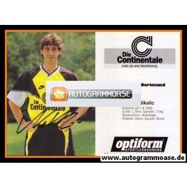 Autogramm Fussball | Borussia Dortmund | 1990 | Robert NIKOLIC