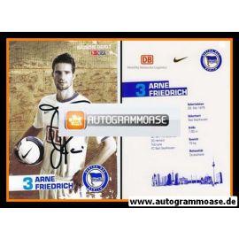 Autogramm Fussball | Hertha BSC Berlin | 2006 | Arne FRIEDRICH