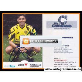 Autogramm Fussball | Borussia Dortmund | 1991 Ball | Thomas FRANCK