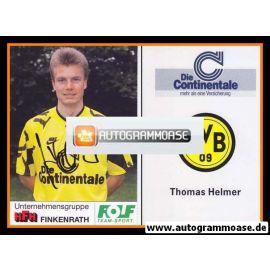 Autogramm Fussball | Borussia Dortmund | 1991 Portrait | Thomas HELMER
