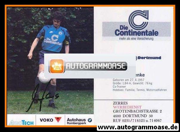 Autogramm Fussball | Borussia Dortmund | 1991 Ball | Michael HENKE