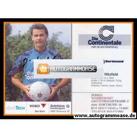 Autogramm Fussball | Borussia Dortmund | 1991 Ball | Ottmar HITZFELD