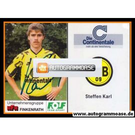 Autogramm Fussball | Borussia Dortmund | 1991 Portrait | Steffen KARL