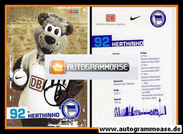 Autogrammkarte Fussball | Hertha BSC Berlin | 2006 | HERTHINHO (Maskottchen)
