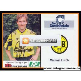 Autogramm Fussball   Borussia Dortmund   1991 Portrait   Michael LUSCH
