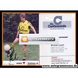 Autogramm Fussball   Borussia Dortmund   1991 Ball   Michael LUSCH