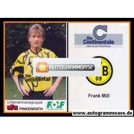 Autogramm Fussball | Borussia Dortmund | 1991 Portrait | Frank MILL