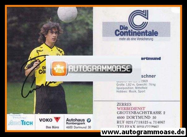 Autogramm Fussball | Borussia Dortmund | 1991 Ball | Gerhard POSCHNER