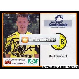 Autogramm Fussball | Borussia Dortmund | 1991 Portrait | Knut REINHARDT