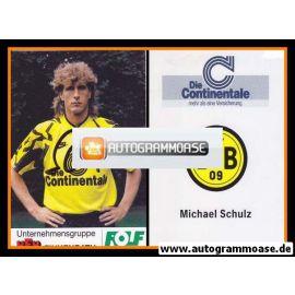 Autogramm Fussball | Borussia Dortmund | 1991 Portrait | Michael SCHULZ