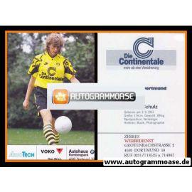 Autogramm Fussball | Borussia Dortmund | 1991 Ball | Michael SCHULZ