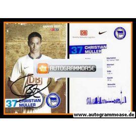 Autogramm Fussball | Hertha BSC Berlin | 2006 | Christian MÜLLER