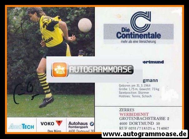 Autogramm Fussball | Borussia Dortmund | 1991 Ball | Jürgen WEGMANN