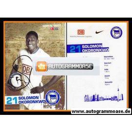 Autogramm Fussball | Hertha BSC Berlin | 2006 | Solomon OKORONKWO