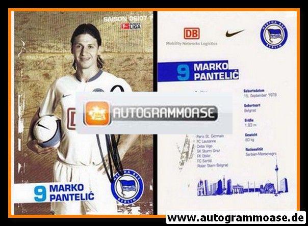 Autogramm Fussball | Hertha BSC Berlin | 2006 | Marko PANTELIC